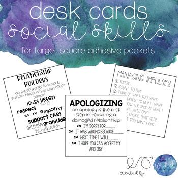 Social Skills Squares - Growing Bundle