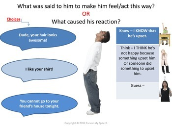 Social Skills - Cause/Effect, Infer, Predict