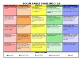 Social Skills Challenge, class activity, group learning