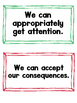 Social Skills Checklist & We Can Statements