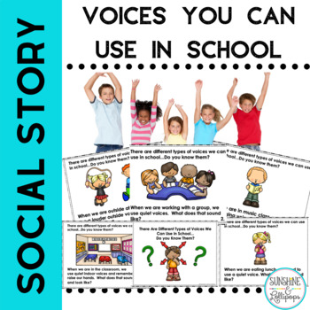 Classroom Management Social Skill Stories Voices We Can Us