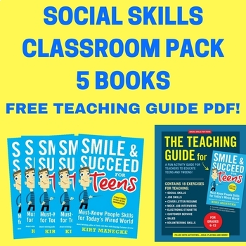 Social skills taking turns talking teaching resources teachers pay life skills social skills classroom pack 5 books smile succeed for teens life skills fandeluxe Choice Image