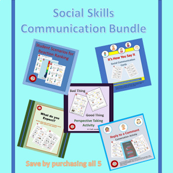 Social Skills Communication Bundle