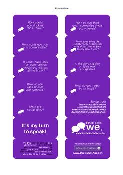 Social Skills Conversation Cards