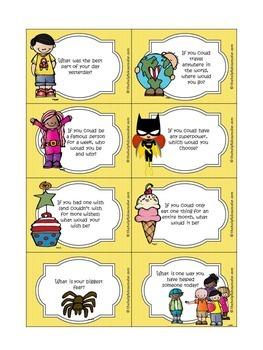 Social Skills Game: Conversations Go-Around Game