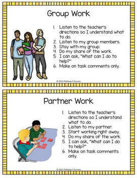Social Skills Cue Cards for Middle and High School
