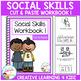 Social Skills Cut & Paste Workbook Bundle Autism