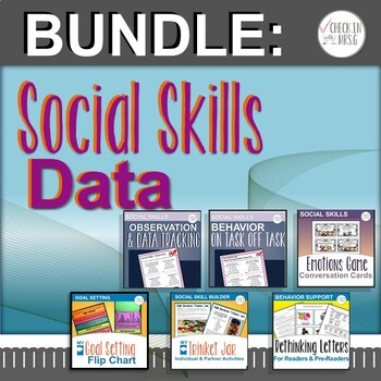 Social Skills Data Bundle