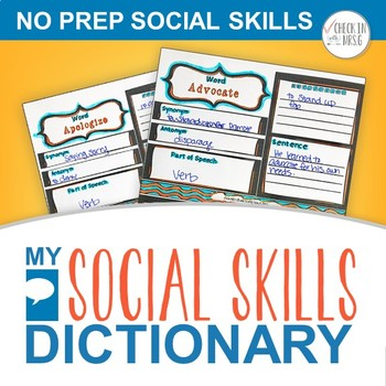 Social Skills Dictionary