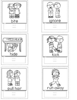 Social Skills Dioramas Expected and Unexpected Behaviors Activity Pack
