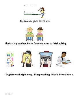 Social Skills: Doing an Assignment; Teaching Visuals; Data Collection