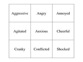 Social Skills - Emotions