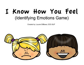 I Know How You Feel - Identifying Emotions Game