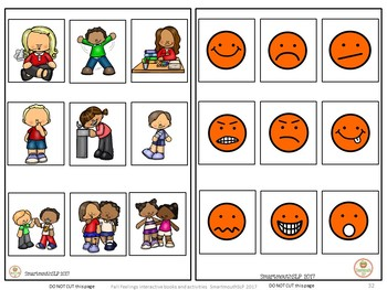 Social Skills, Emotions, Interactive Books, Fall