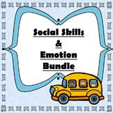 Social Skills & Emotions Scenarios Bundle