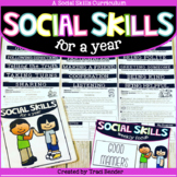 Social Skills For A Year {A Year-long Curriculum}
