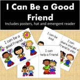 Back to School-Social Skills Freebie- I Can Be a Good Friend