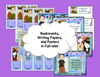Classroom Community - Friendship - Craftivity, Reading, Writing, and More
