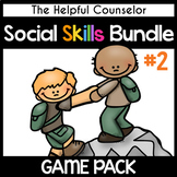 School Counseling: Social Skills & Friendship Game Bundle