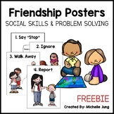 Social Skills - Friendship Problem Solving Posters - Freebie