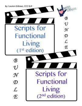 Social Skills - Functional Living Scripts BUNDLE