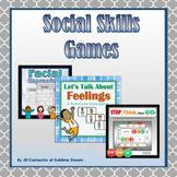 Social Skills GAMES Bundle: Fun social skills practice!