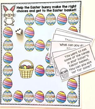 Social Skills Game: Easter Themed