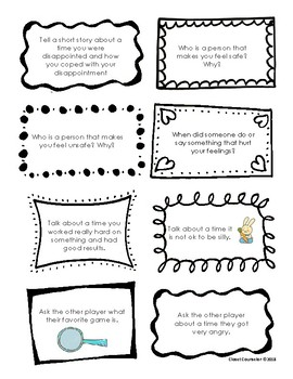 Social Skills Game Prompts