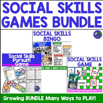 Social Skills Games Bundle!