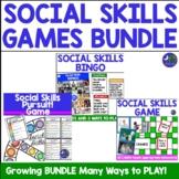 Social Skills Games Bundle! Speech Therapy