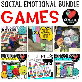 Social Skills Activities Game Bundle