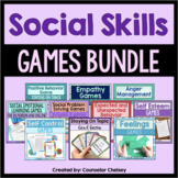 Social Skills Games Bundle For School Counseling Lessons A