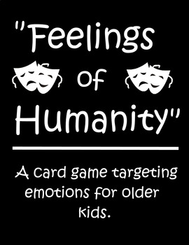 "Social Skills Games - Bundle - Includes ""Feelings of Humanity"""