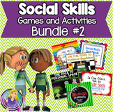 Social Skills Games and Activities Bundle: Set #2 (save 40%)