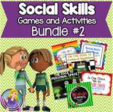 Social Skills Games and Activities Bundle: Set #2 (save 40%)