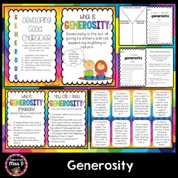 Social Skills Generosity