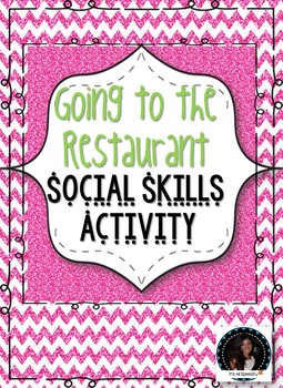 Social Skills Going to the Restaurant Scripts and Vocabulary