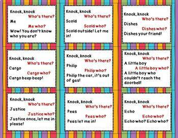 Rapport Building with Jokes & Riddles: A Social Skills Game