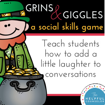 Social Skills Game: Conversations with Grins & Giggles