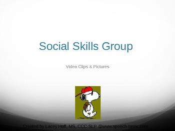 Social Skills Group Charlie Brown