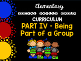 Social Skills Group Curriculum PART IV - Being Part of a Group - HFA, ASD