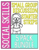 Social Skills Group Discussion Strips