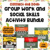 Social Skills:  Group Work Fall Bundle