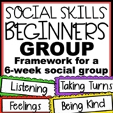 Social Skills Group for Autism: Activities for 6 Weekly Themes
