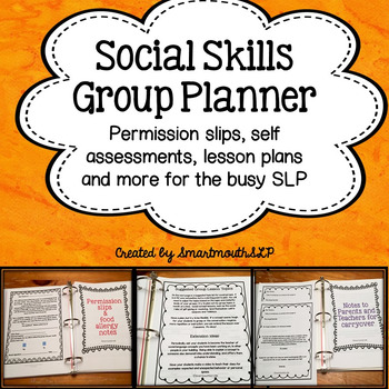 Social Skills Groups Planner