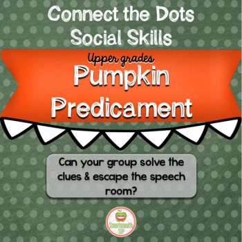Halloween Social Skills Group Work