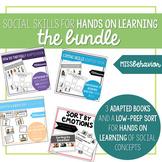 Social Skills Hands on Tasks Bundle | SEL Tasks Bundle