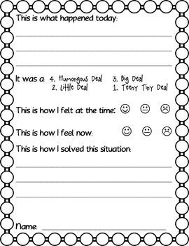 Social Skills Behavior Management Editable for K-2
