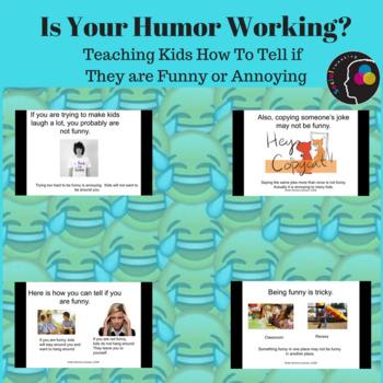 Social Skills; Humor; Is your humor working?