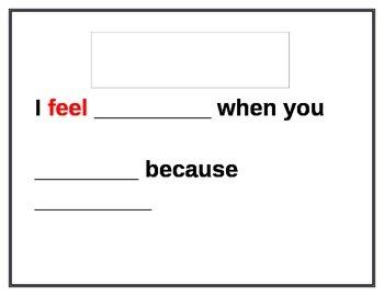 Social Skills I - Message Sentence Stem
